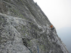 Rock Climbing Photo: The start of the 8th pitch (according to Supertopo...