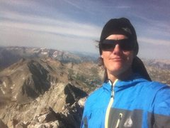 Rock Climbing Photo: Self photo from the summit