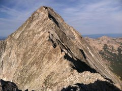 The ridge to the summit of Capital peak