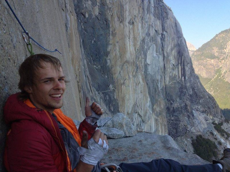 Stoked on El Cap Tower!
