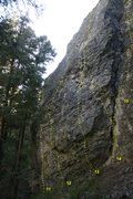Rock Climbing Photo: 11 Captain Hammer 5.10d 12 Oh Captain! My Captain!...