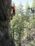 Rock Climbing Photo: Thomas Holmes on Jubal.