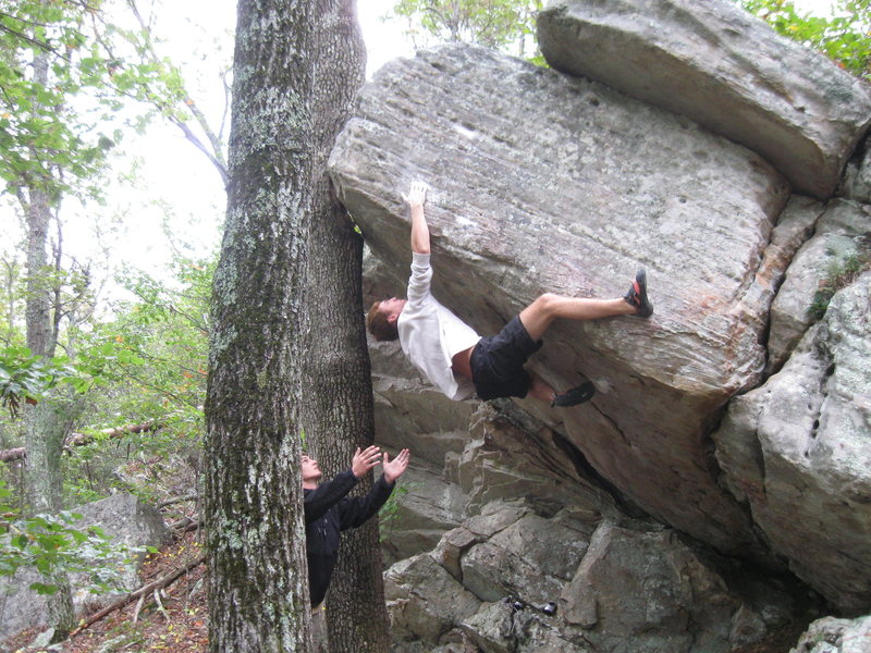 Rock Climbing Photo: Ole toby towne getting the send