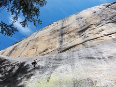 Rock Climbing Photo: Me in Tuolumne