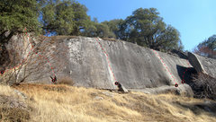 Rock Climbing Photo: Ten Minute Cliff. Click photo for high-res version...