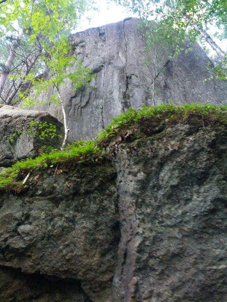 Rock Climbing Photo: The 3 crack climbs.