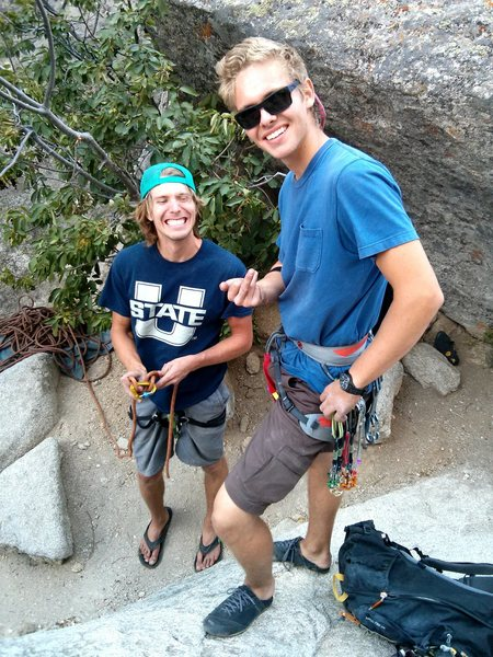 Rock Climbing Photo: Careless days in City of Rocks ID (Bloody Fingers ...