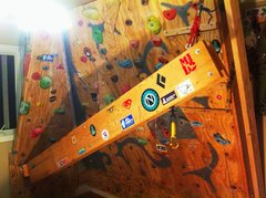 Rock Climbing Photo: Hanging Crack