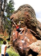 Rock Climbing Photo: West Side (V0).
