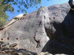 Rock Climbing Photo: Upper Dinkum Gully (Left). Click for High Resoluti...