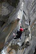 Rock Climbing Photo: Mike mango displaying beautipherous balance on the...