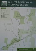 Rock Climbing Photo: Map of area.  Notice the scale.  The approach take...