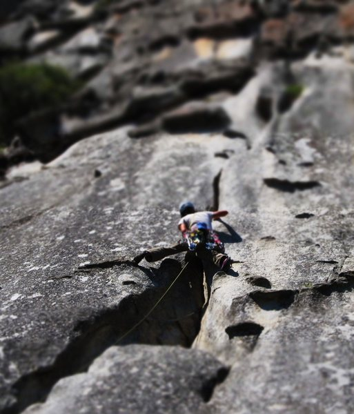 Rock Climbing Photo: The cragging is awesome!