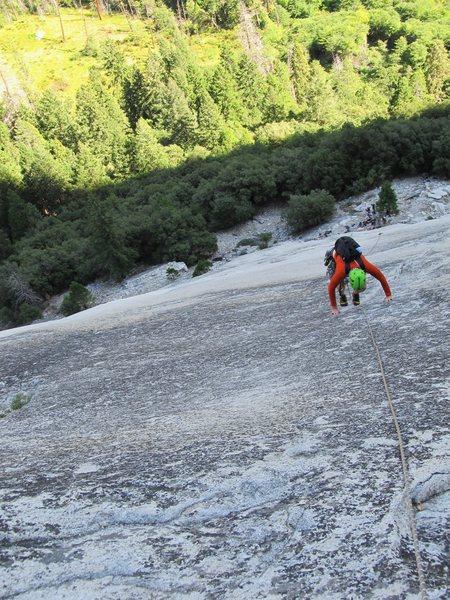 The all classic 5.6 Grack, Glacier Point Apron