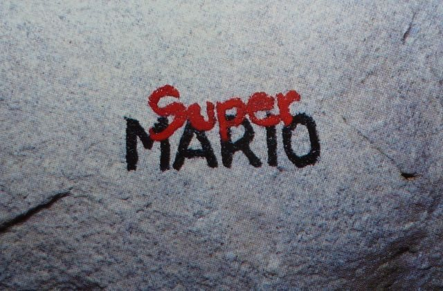 Rock Climbing Photo: Super Mario graffito  Photo by Ron Kampas