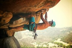 Rock Climbing Photo: Unknown 5.12 roof!