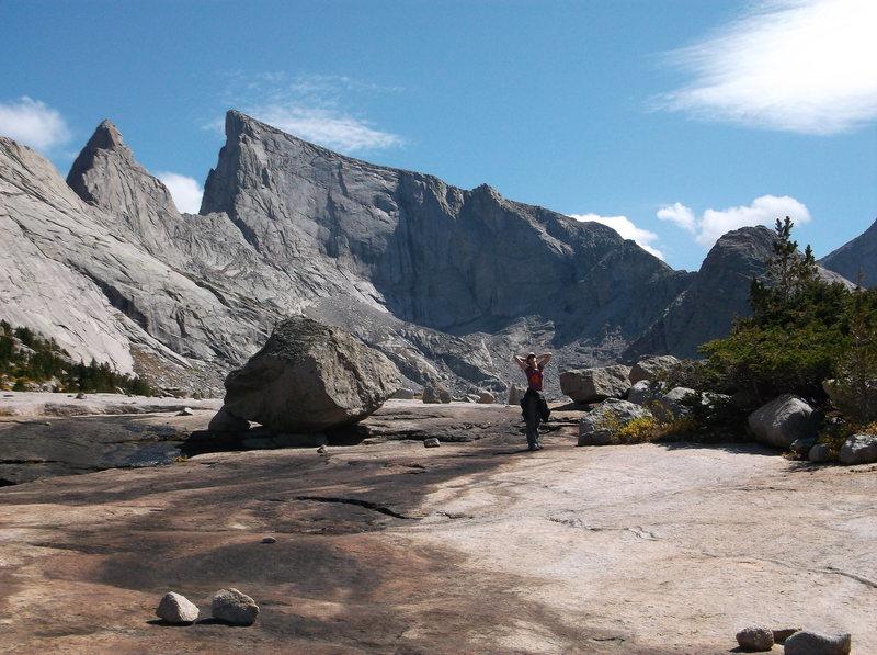 Rock Climbing Photo: ahh