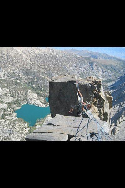 Rock Climbing Photo: Jon throwing down on Sunribbon!!!