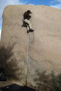 Rock Climbing Photo: Jon soloing yet another lap!!!