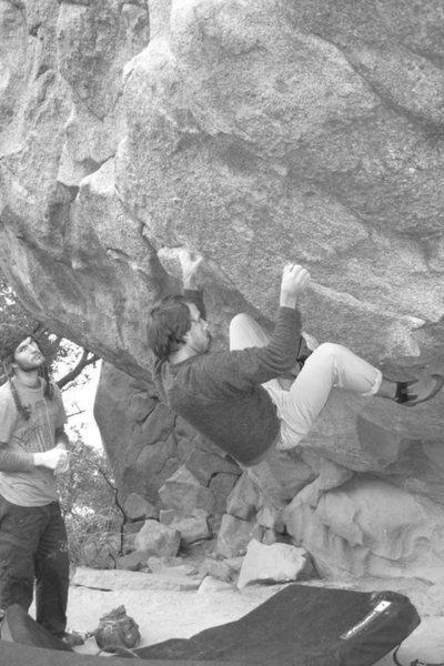Rock Climbing Photo: Da Cave...