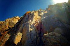 Rock Climbing Photo: Solo of da Ramp...