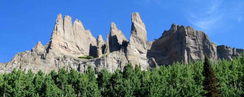 Rock Climbing Photo: Unclimbed (most likely!) rock in Mill Creek Canyon...