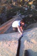 Rock Climbing Photo: Cheater Overhang!!!
