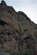 Rock Climbing Photo: Claire Carren at the base of Poor Man's Wingate, J...
