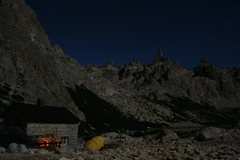 Rock Climbing Photo: home sweet home... Refugio Frey, Patagonia