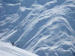 Rock Climbing Photo: skiing in the Caucasus