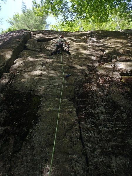 Mike Gray leading High-Rise Tightie Whities, 5.10a  New Buck
