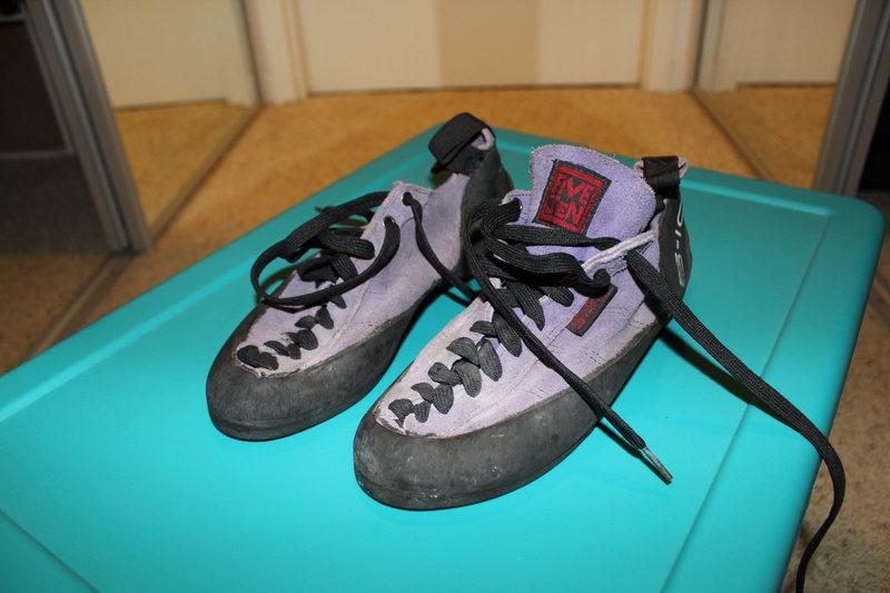 Rock Climbing Photo: 5.10 Shoes