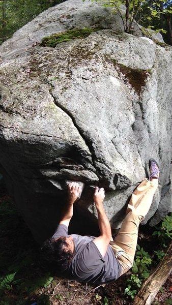 Rock Climbing Photo: Foster Care V2