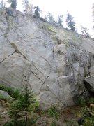 Rock Climbing Photo: Sunshine Wall