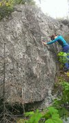 Rock Climbing Photo: The slab