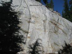 Rock Climbing Photo: Blacksmith, 5.8