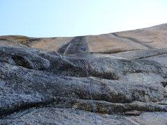 Rock Climbing Photo: Bachar-Yerian pitch one