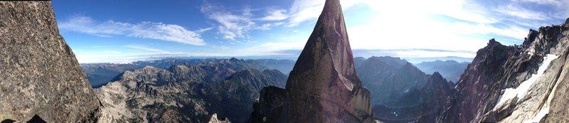 Rock Climbing Photo: Remarkable Mt. Stuart
