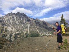Rock Climbing Photo: Michael happy to be at Longs