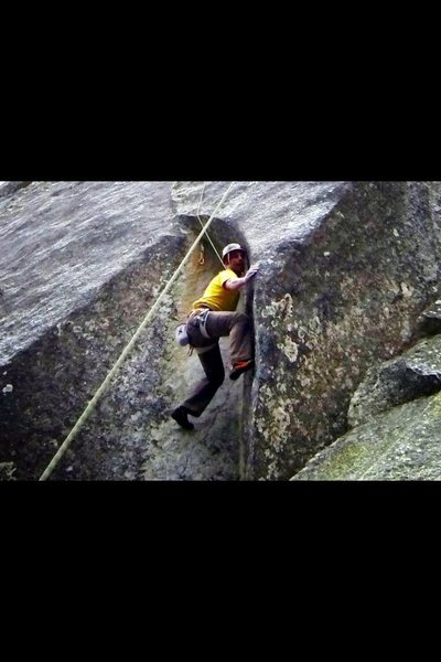 Rock Climbing Photo: Baby Cobra. Awesome stemming/master locks/beautifu...