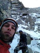 Rock Climbing Photo: El Wampo mixed!!! WI3 M3...