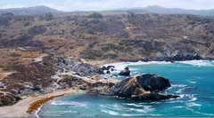 Rock Climbing Photo: View of Little Harbor from the North. Boulders vis...