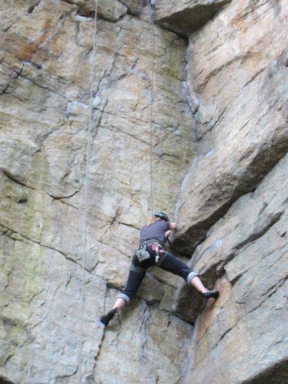 Rock Climbing Photo: I love corners!