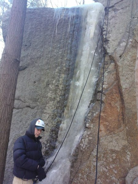 Rock Climbing Photo: WI4.
