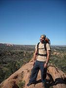 Rock Climbing Photo: Hot day at RRCOS