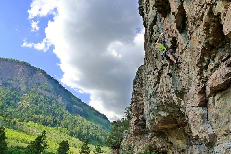 Rock Climbing Photo: Enjoying an afternoon at Golf Wall.