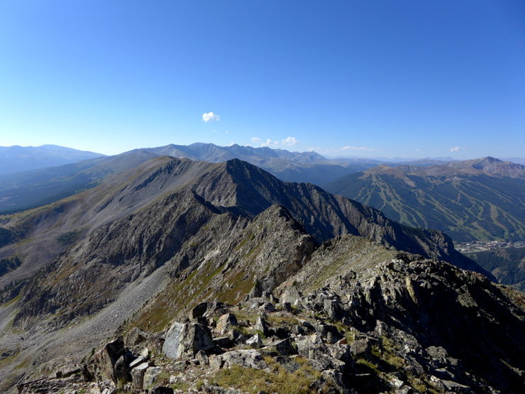 Rock Climbing Photo: Looking south from Tenmile Peak (aka Peak 2).