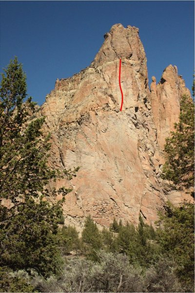 Not the most accessible, but undoubtedly one of the greatest 5.10 crack lines around.