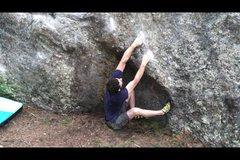 Rock Climbing Photo: sit start holds.