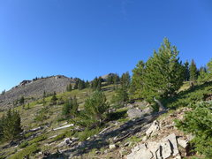 Rock Climbing Photo: Heading toward Peak 1.